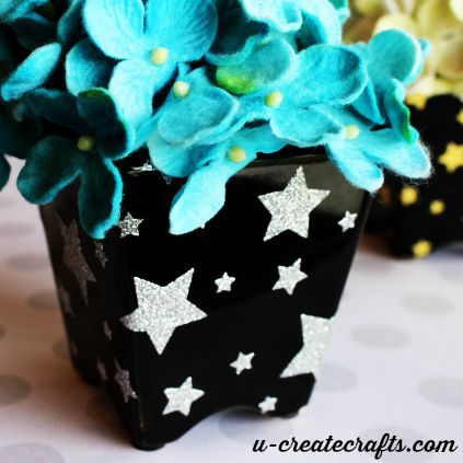 Add some sparkle to your vases
