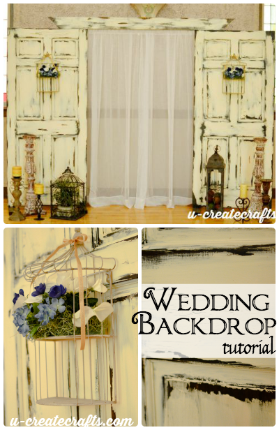Wedding Backdrop Tutorial by U Create