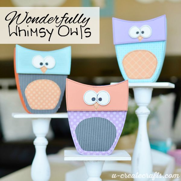 Wonderfully Whimsy Owls
