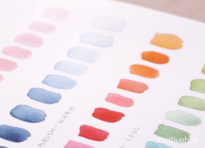 Free Watercolor Class by Creativebug