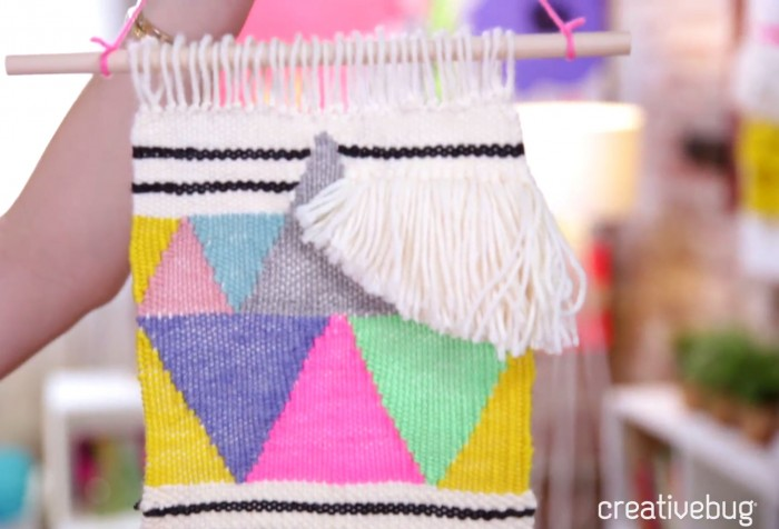 Free Weaving Class by Creativebug