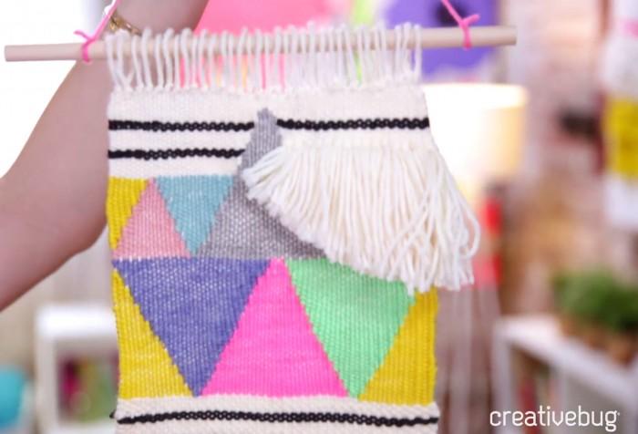 Free Weaving Class by Creativebug