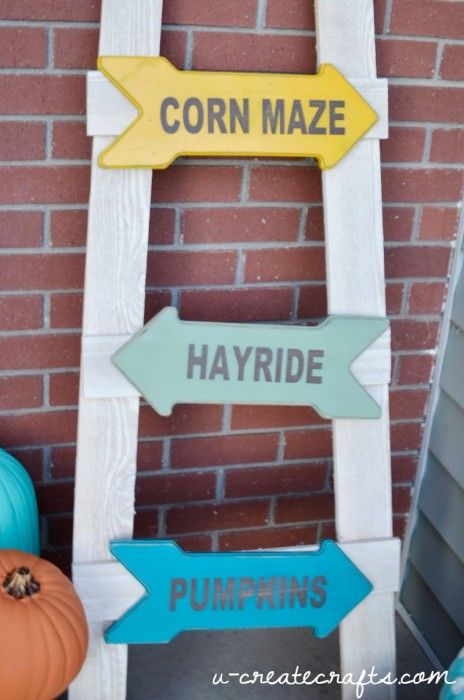 DIY Fall Ladder