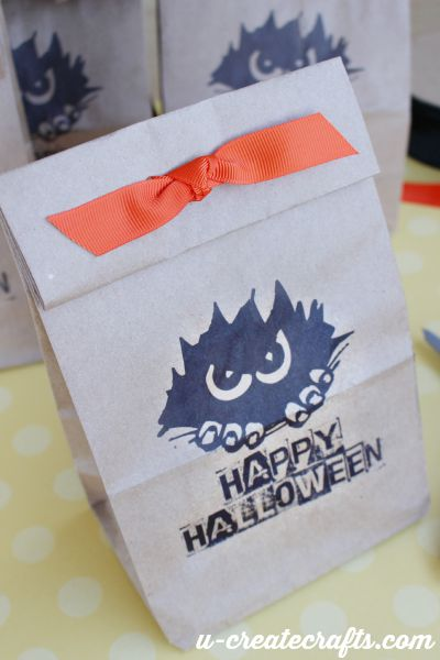 DIY Halloween Grab bags