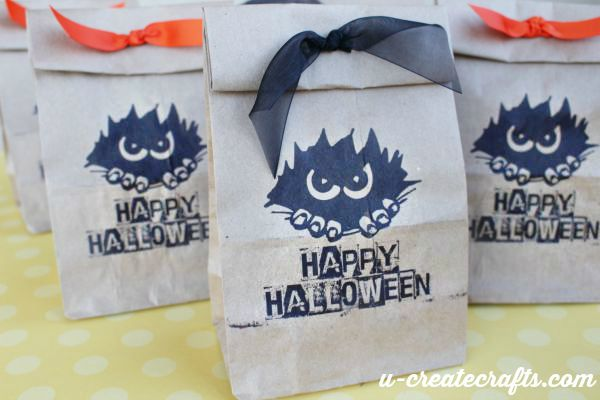 Halloween Printable for Gift Bags