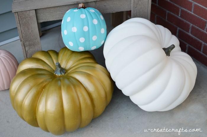 DIY Jumbo Pumpkins