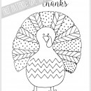 Free Pattern: Fall Turkey by U Create