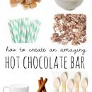 How to Create an Amazing Hot Chocolate Bar by U Create