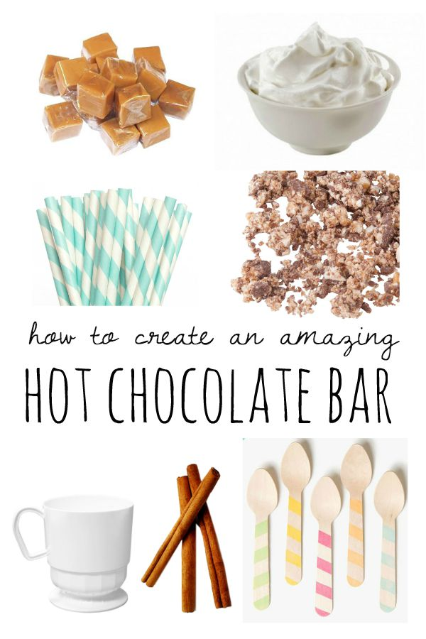 How To Create A Hot Chocolate Bar