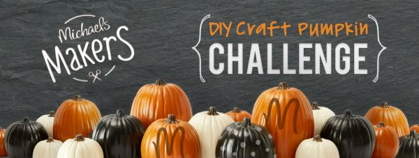 Michaels Makers Fall Pumpkin Challenge