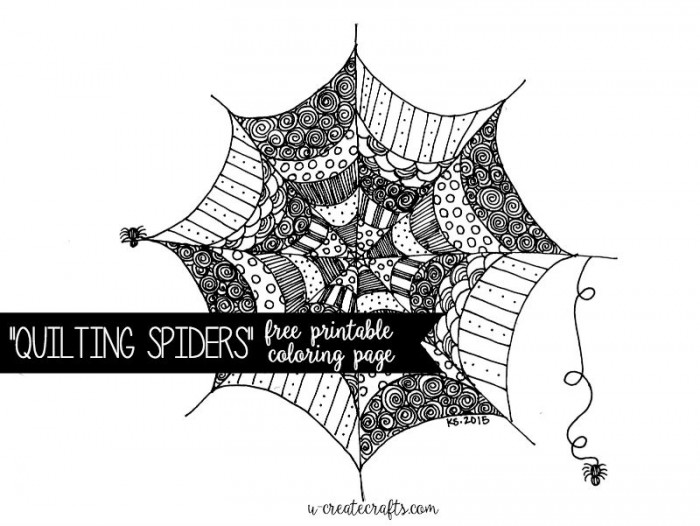Quilting-Spiders-Coloring-Page