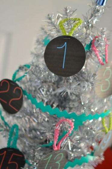 Christmas Advent Ornament Printables
