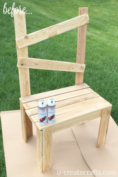 Wood Chair Makeover U Create