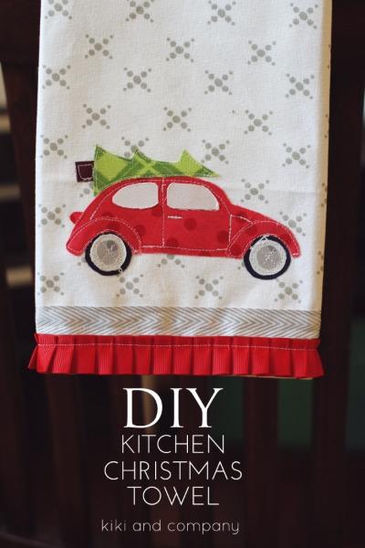 DIY-kitchen-Christmas-towel...free-template-and-printable-at-kiki-and-company-e1416641249535