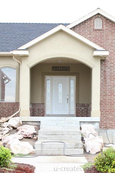 Front Door Makeover 1