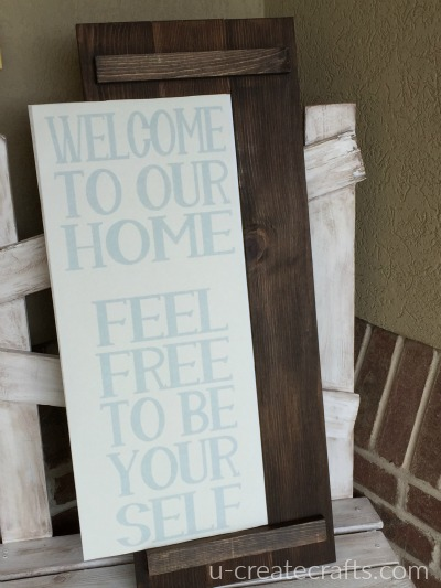 Front Porch Sign vinyl