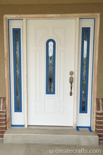 Front door makeover part 2