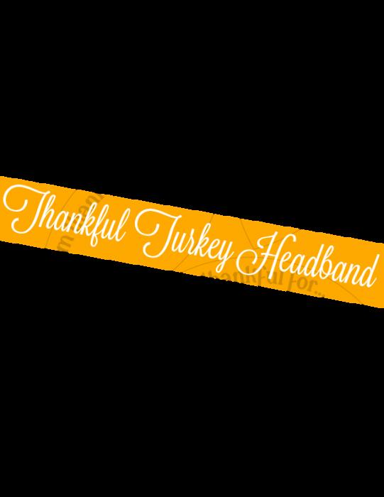 Turkey-Headband u-createcrafts.com
