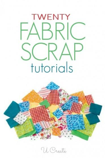Fabric Scrap Tutorials at U Create
