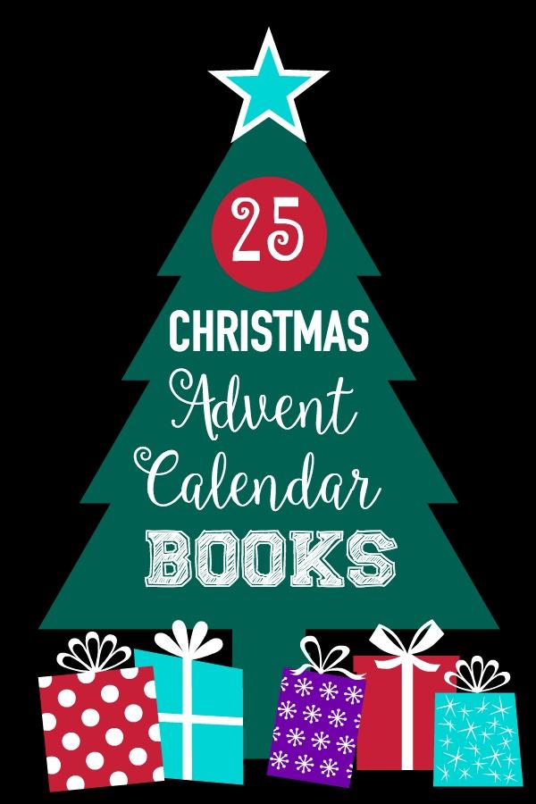 25 Advent Calendar Christmas Books U Create