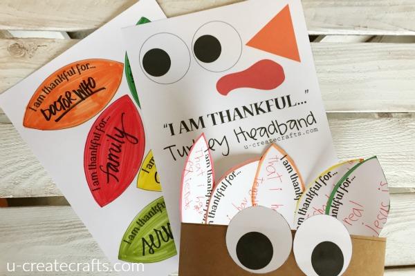 I am thankful kid craft