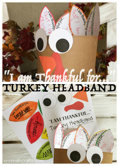 Thanksgiving Turkey Headband