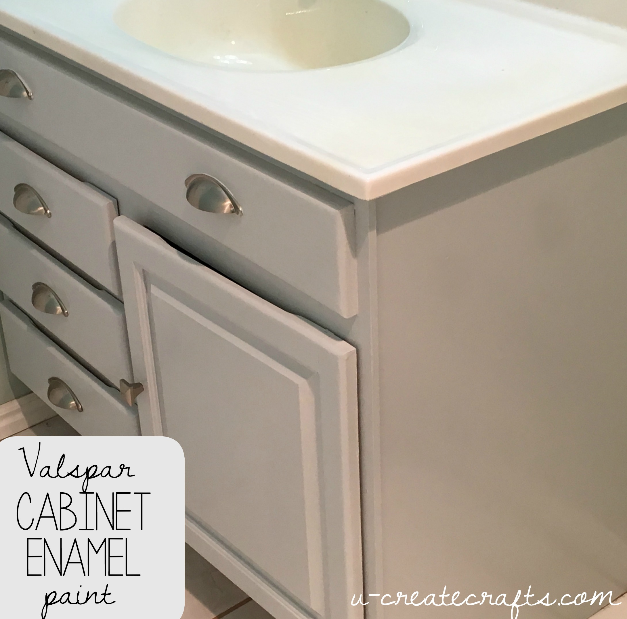 Valspar Cabinet Enamel Paint U Create - Valspar bathroom paint