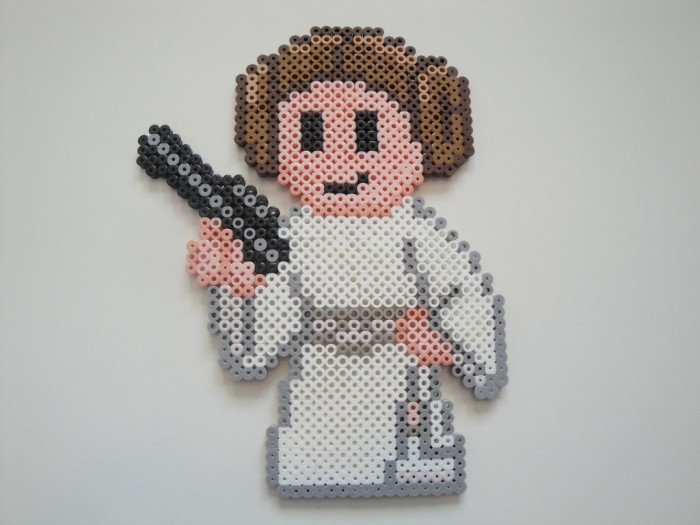 Princess Leia Perler Bead Pattern