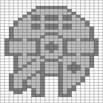 Millenium Falcon Perler Bead Pattern