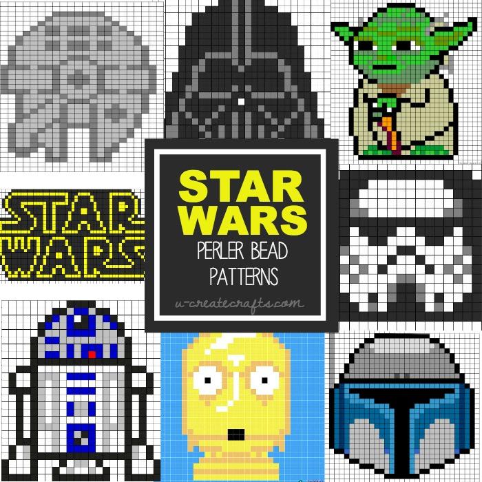 Star Wars Perler Bead Patterns for Kids