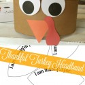 Free Printable Turkey Headbands by U Create