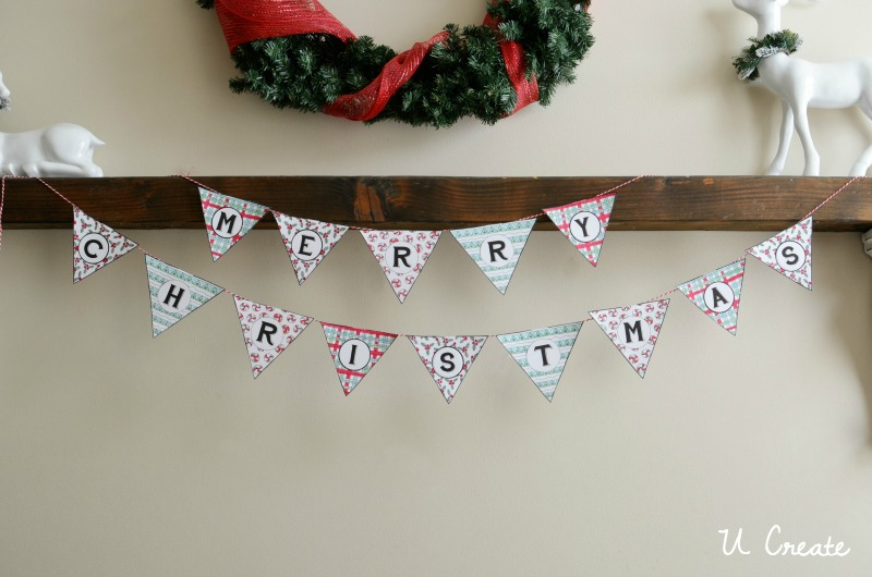 12++ Merry Christmas Banner Printable