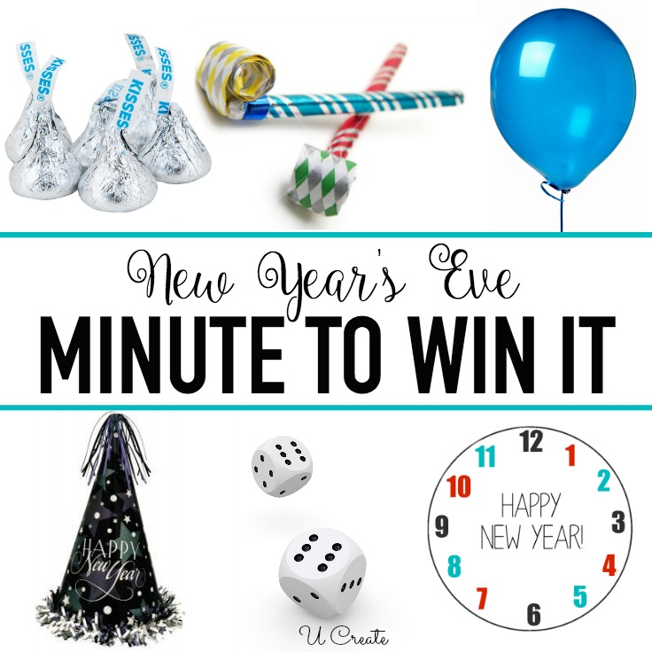 New Year's Eve Minute To Win It Games