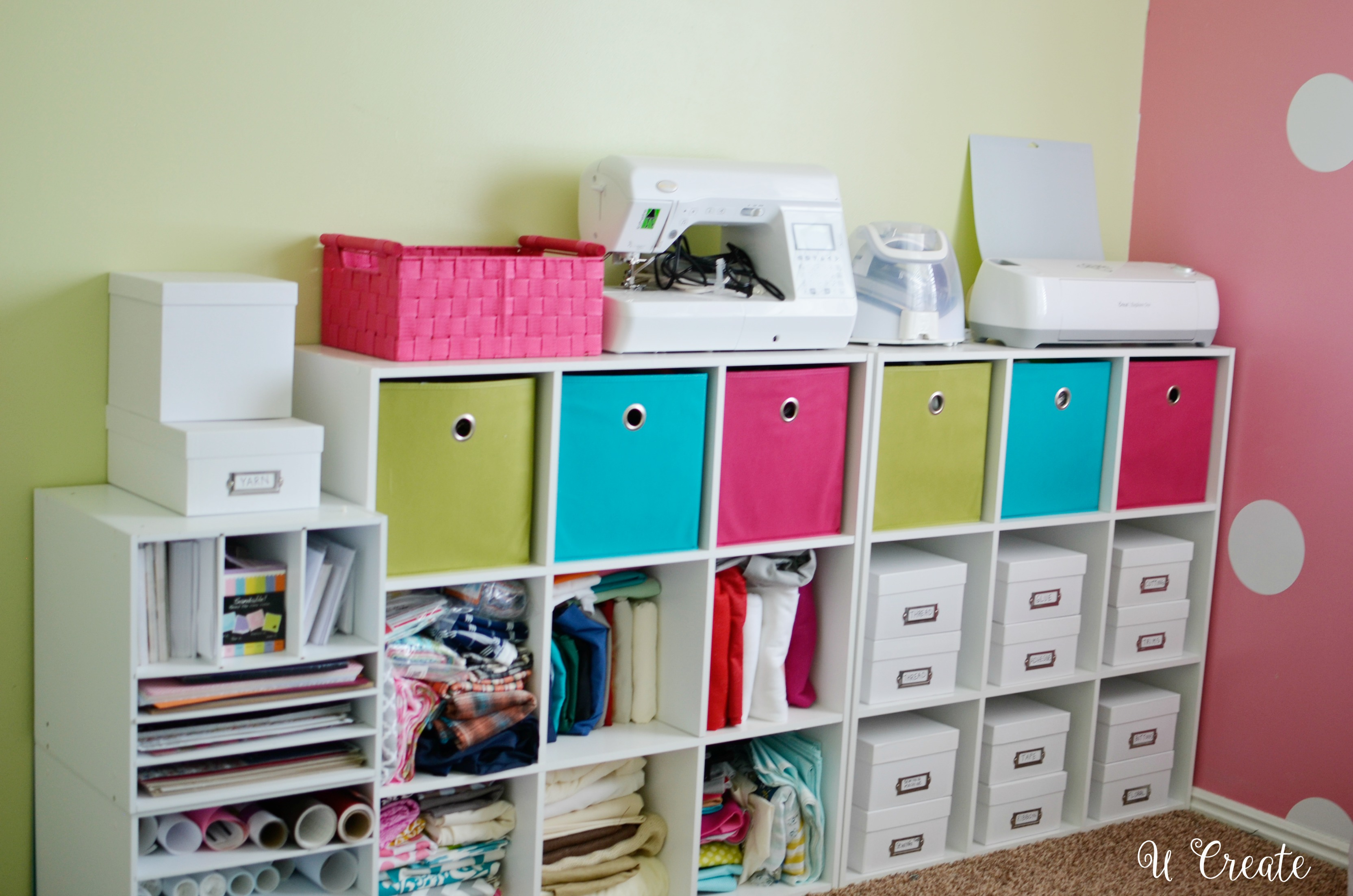 Favorite Craft Organization Tips