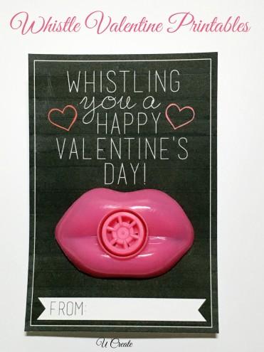 DIY Valentine Printables by U Create
