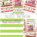 Free Printable Puzzle Valentines by U Create