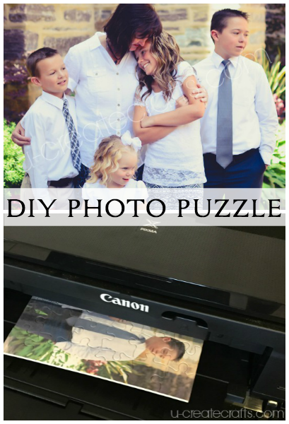 How to make a Photo Puzzle with u-createcrafts.com