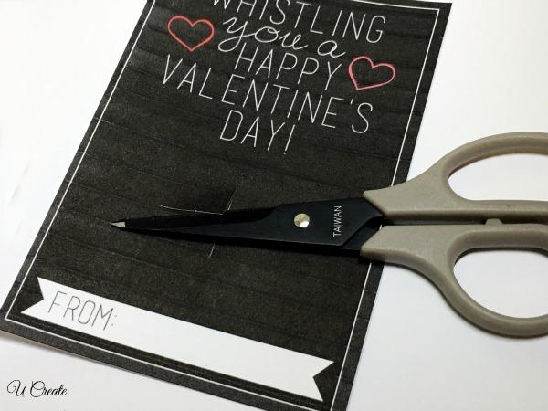 Whistle Valentine Tutorial