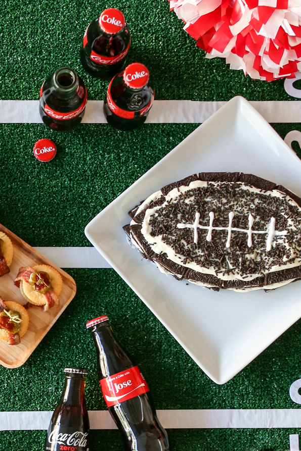 Hostess Gift Idea and Oreo Football Cake Recipe