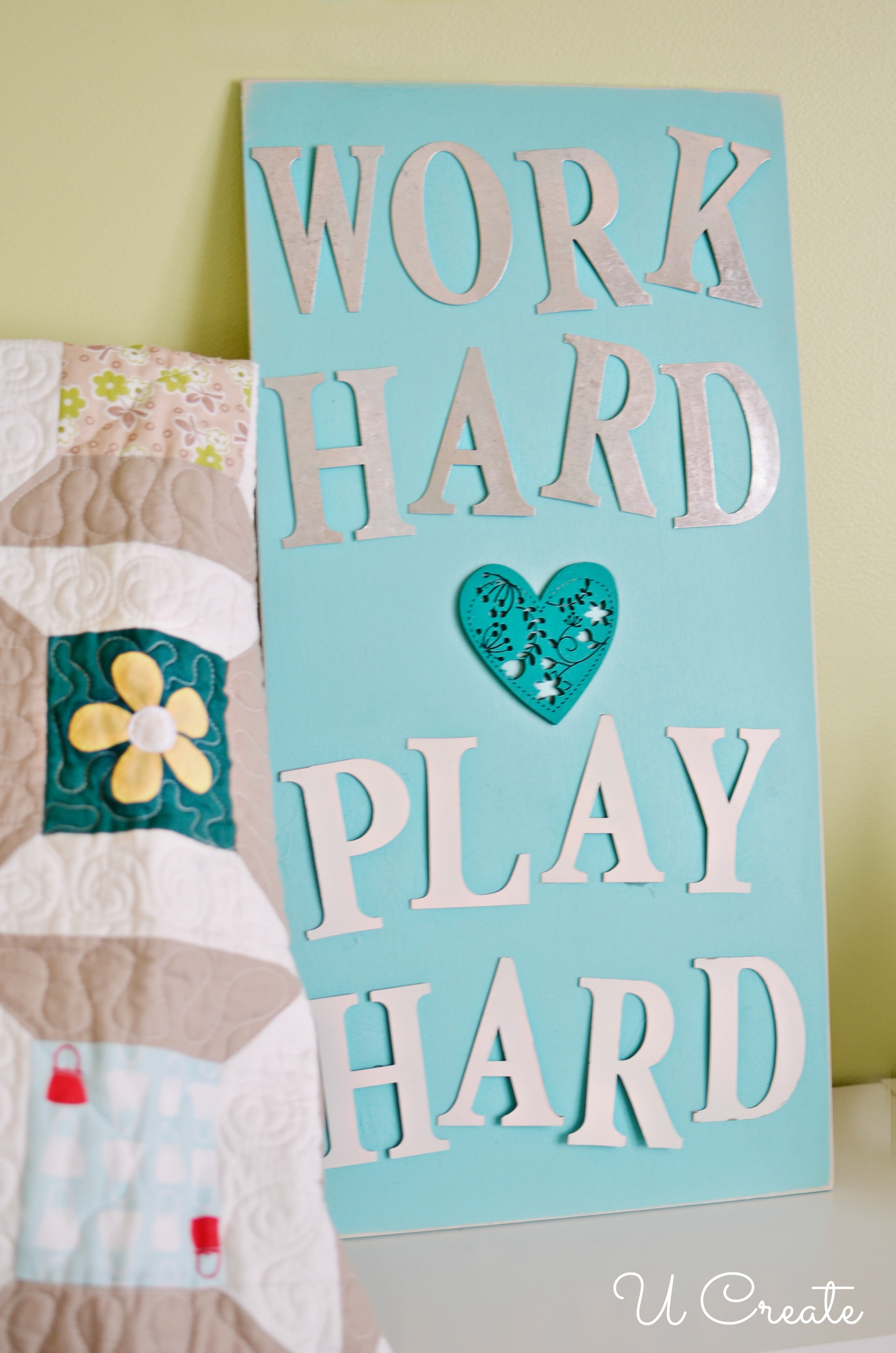 DIY Family Motto by U Create