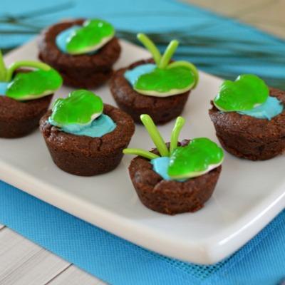 Frog Pond Cupcake Cookies
