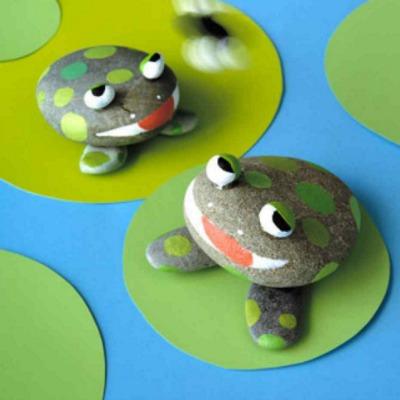 Frog Rocks at Martha Stewart