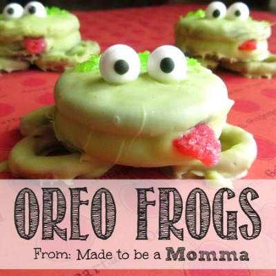 Oreo Frogs Made to be a momma