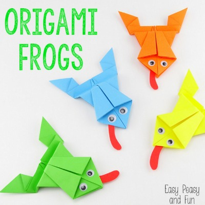 Origami Frogs