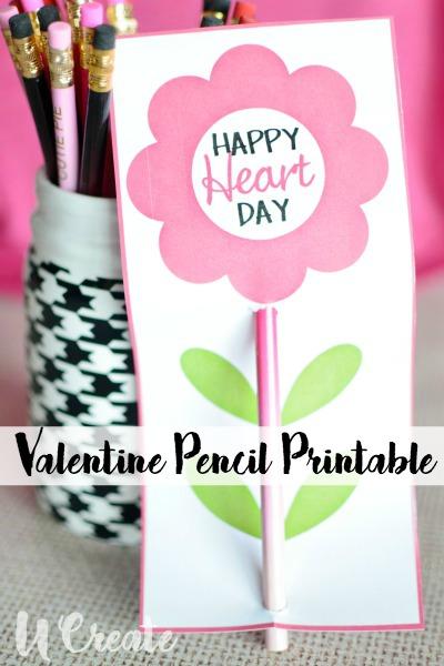 Pencil Valentine COVER