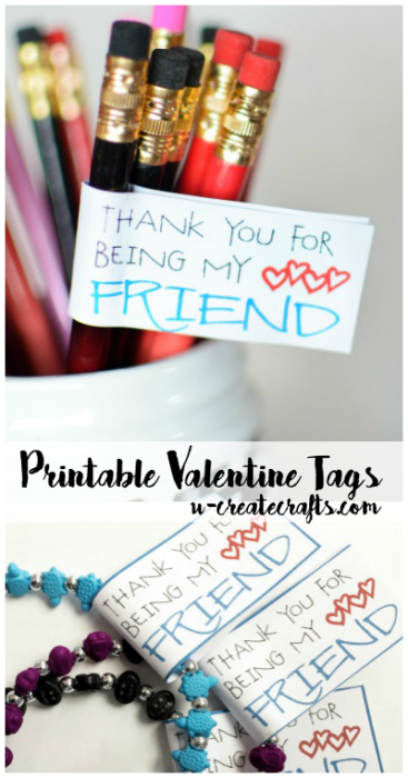 Printable Valentine Tags