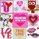 Free Valentine Perler Bead Patterns at U Create