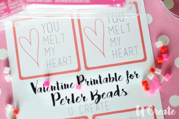 Valentine Printable U-Createcrafts.com
