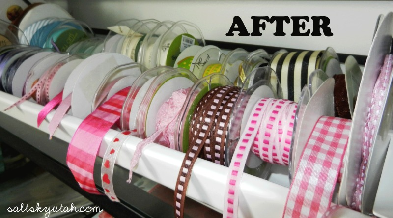 DIY Raingutter Ribbon Holder