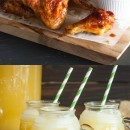 Zesty Punch Sipper and Pineapple Aloha Chicken Wings Recipes